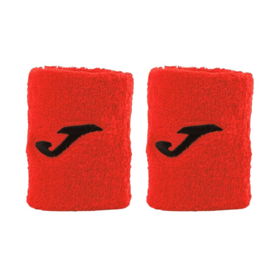 Muñequera Joma Jumbo Roja Logo Negro
